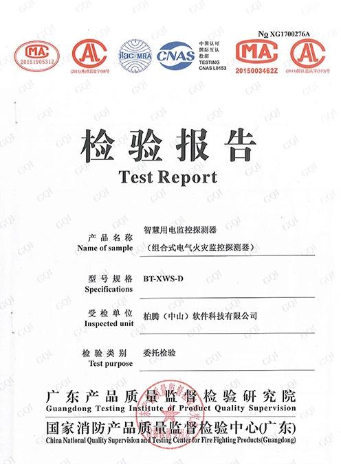 检验报告-BT-XWS-D(CNAS委托检验)
